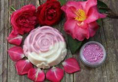 savon-rose