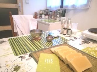 Atelier cosmétique bio d'Isis