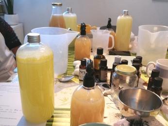 Atelier produits ménagers écologiques