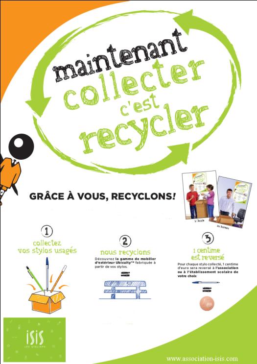 ISIS grâce à vous recyclons