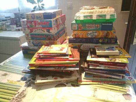 Collecte de jeux et livres pour l'hôpital d'Avignon